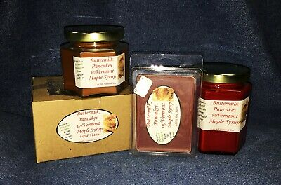 **NEW** Hand Poured Bakery Soy Candles Cappuccino Brulee Tarts /& Votives