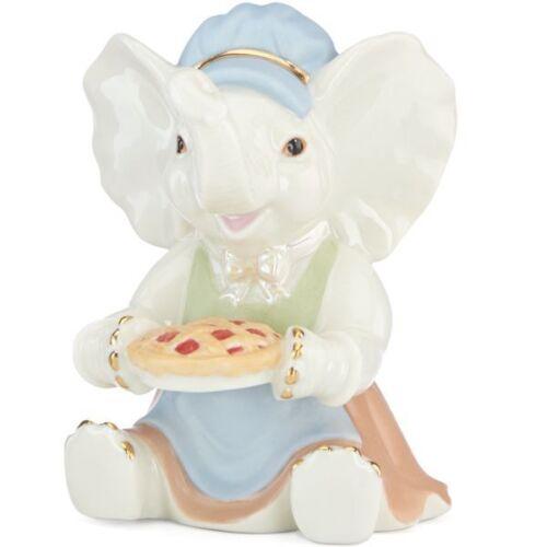 Lenox Thanksgiving Elephant Figurine MSRP $50 COA New in Box