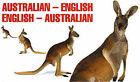 Australian-English, English-Australian by Abson Books London (Paperback, 1993)