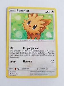 ☺ Carte Pokémon Ponchiot REVERSE 103//149 VF NEUVE SL1 Soleil et Lune