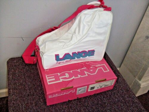 New Lange  ice figure roller blades inline white $29.99 retail fast free shipper