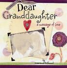 Dear Granddaughter by Marianne Richmond (Hardback, 2008)