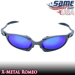 Romeo X-Metal Polarized Sunglasses with Sapphire Iridium Lenses /& Metal Frames