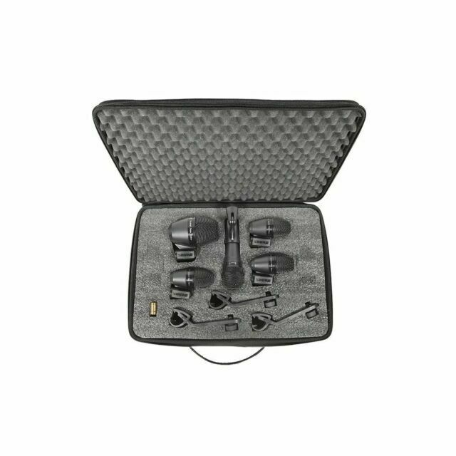 Shure PGA Drumkit5 Complete Drum Microphone Kit UPC 00042406396806
