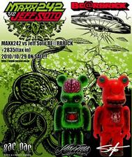 MAXX242 VS JEFF SOTO BEARBRICK SET MEDICOM TOY ZACPAC
