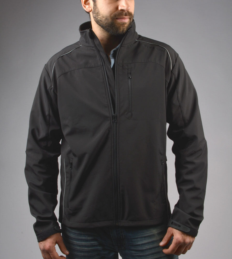 Aero Tech Designs Thermal Softshell Windproof Water Resistant Jacket