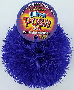 ULTRA POSH BALL Toy LATEX FREE Rubber Therapy Stress Relax Therapy Office NWT