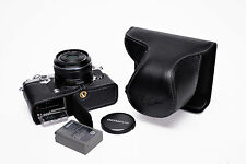 Genuine Real Leather Full Camera Case Bag Cover for Olympus PEN-F PEN F Open B