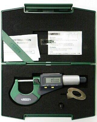 "Model # 3109-25 INSIZE Electronic Outside Micrometer 0-25mm//0-1/"""