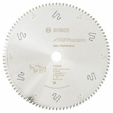Bosch Kreissägeblatt Top Precision Best for Multi Material, 305 x 30 x 2,3 ...
