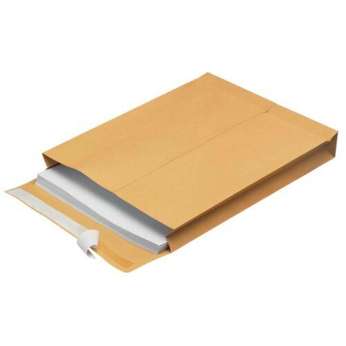 1000 Faltentaschen Versandtaschen C4-229 x 324 x 40 mm 140 g//qm!!!