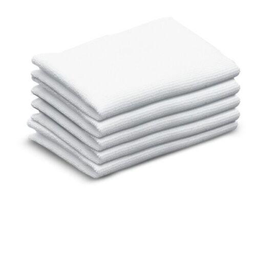 GENUINE KARCHER SC 3 MULTI STEAM CLEANER,TERRY COTTON FLOOR CLOTHS (5PK)