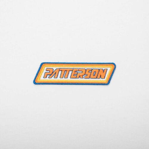 PATTERSON Patch Old School BMX Vintage Reissue