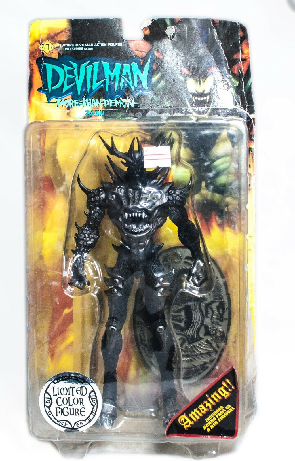 Fewture Devil Man Action Figure Devilman Zann Second Series Limited color FA-A06