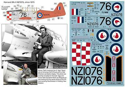 """""""Gloria Lyons"""" and """"Leslie"""" V3285 RNZAF P-40Ns 1//32nd scale decal"""