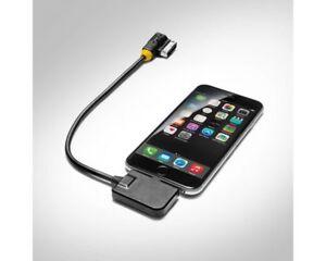 iPOD GENUINE AUDI S4 CABLE AMI APPLE iPHONE LIGHTNING AUDIO LEAD MUSIC ADAPTOR