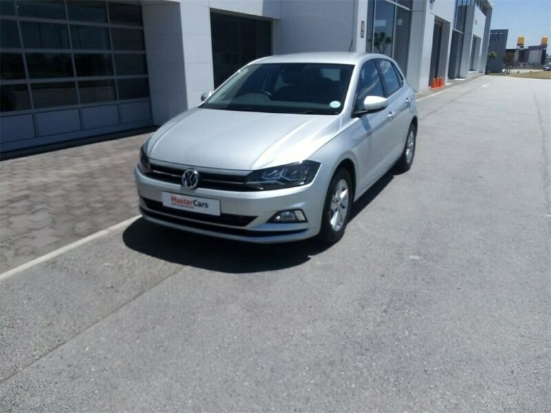 Silver Volkswagen Polo 1.0 Comfortline with 13000km available now!