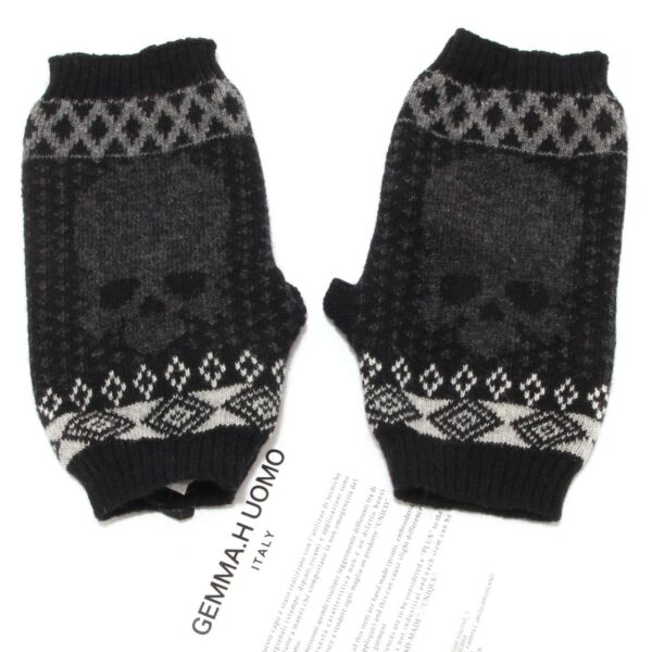 2578s Guanti Donna Gemma.h Senza Dita Accessori Gloves Woman