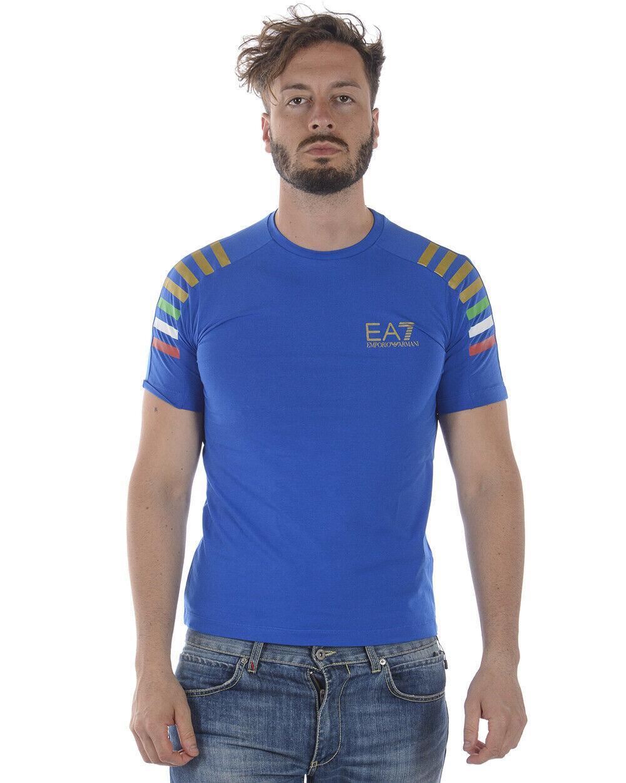 Emporio Armani EA7 T hemd schweißhemd Man Blau 3ZPTA8PJM5Z 1598 Sz. XL PUT OFFER