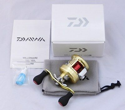 Daiwa MILLIONAIRE 100L (LEFT HANDLE)  BaitCasting Reel  From Japan