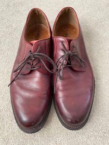 aldo burgundy men's shoes size uk 11  ebay