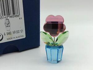 Swarovski-Figurine-Pot-de-Fleur-5-Cm-avec-Emballage-Et
