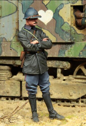 1:35 WW1 French Tank Crewman Set 3 High Quality Resin Model