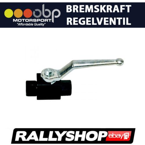 Absperrventile für Bremsleitungen OBP hydraulische Handbremse Wettbewerbsfahrzeu