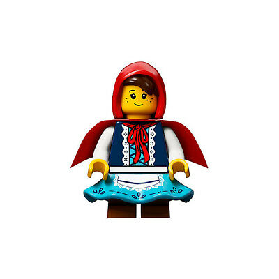 NEW LEGO IDEA045 LITTLE RED RIDING HOOD MINIFIGURE