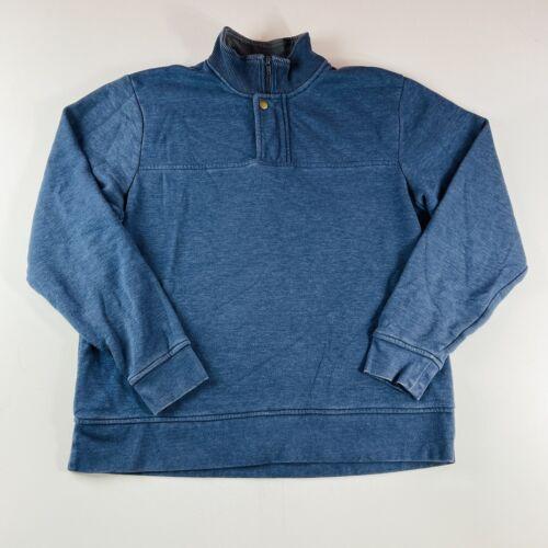 Orvis Men\u2019s Soft Quarter Zip Pullover Navy, S