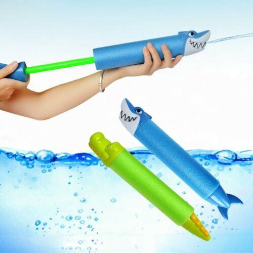 Summer Water Gun Outdoor Game Swimming Pool Shark Crocodile Squirt Kids Toy