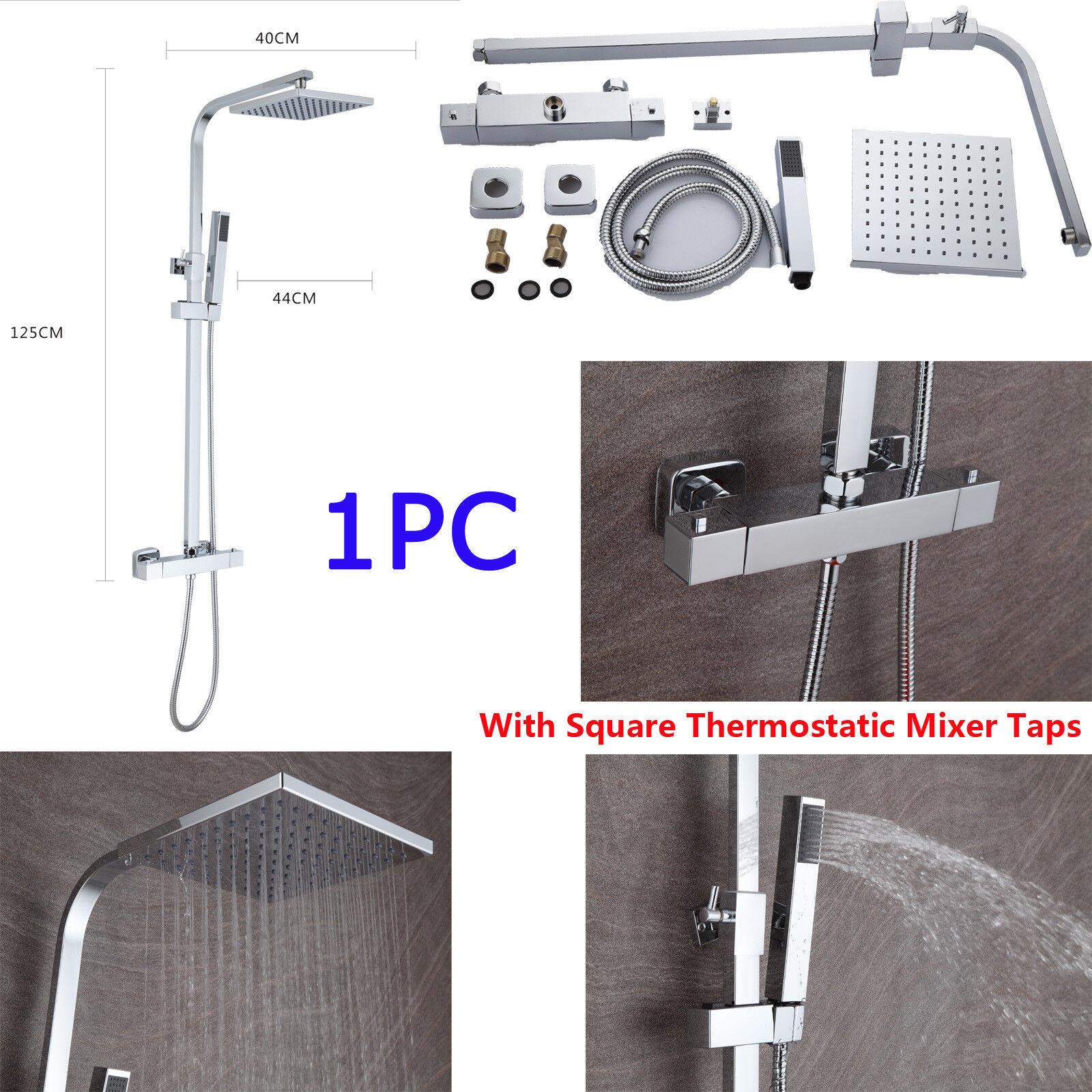 Brause Thermostat Duscharmatur Duscharmatur Duscharmatur Dusch Armatur Brausebatter Duschstange Armaturen | Zu einem niedrigeren Preis  372aca