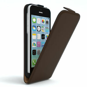 Case-for-Apple-iPhone-5C-Flip-case-protective-case-phone-cover-Brown