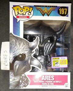 Funko Pop Wonder Woman Ares 197 - Édition limitée San Diego Comic Con 2017 Sdcc
