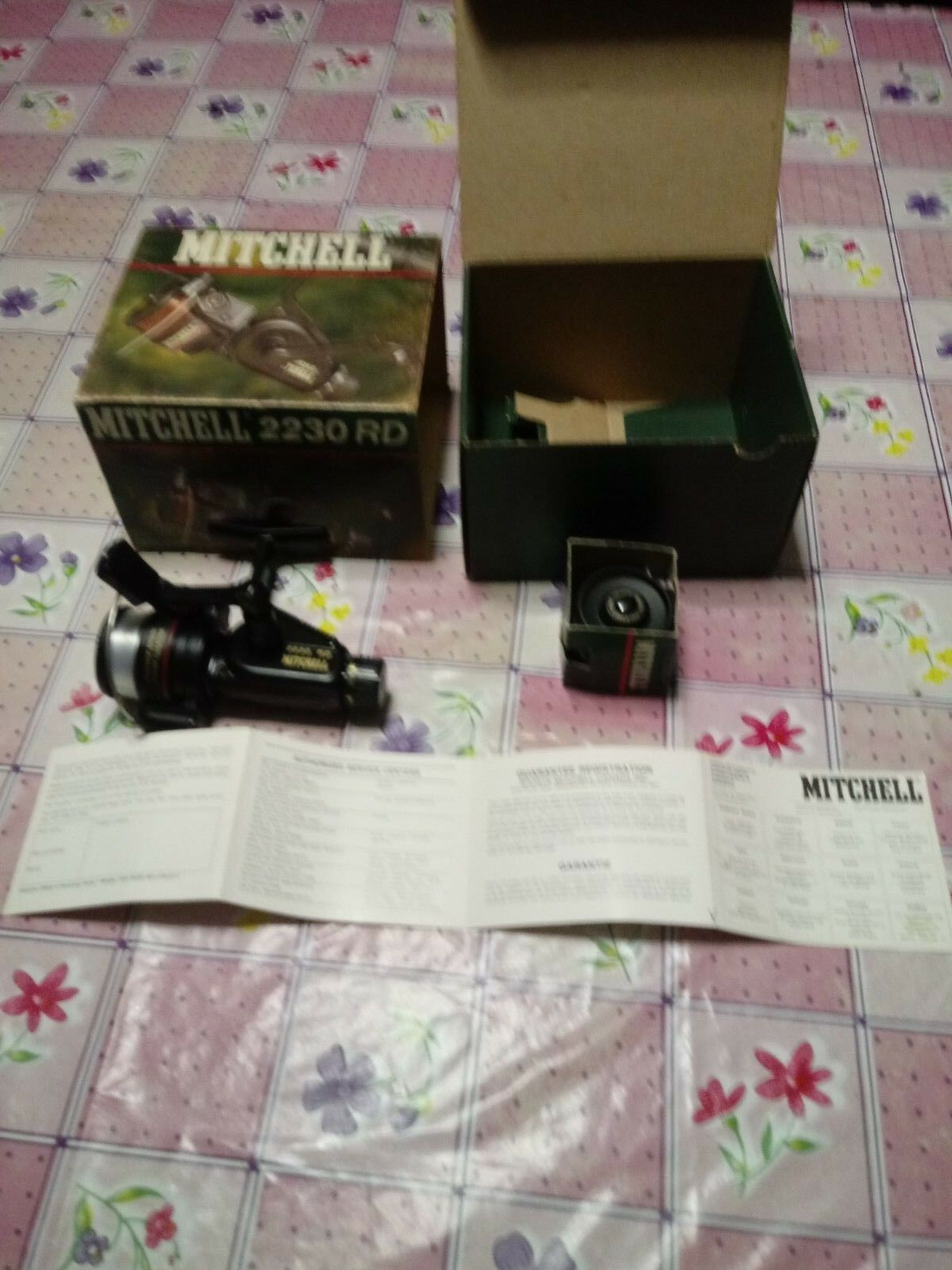 Mulinello mitchell 2230 rd moulinet reel fishing rolle in box