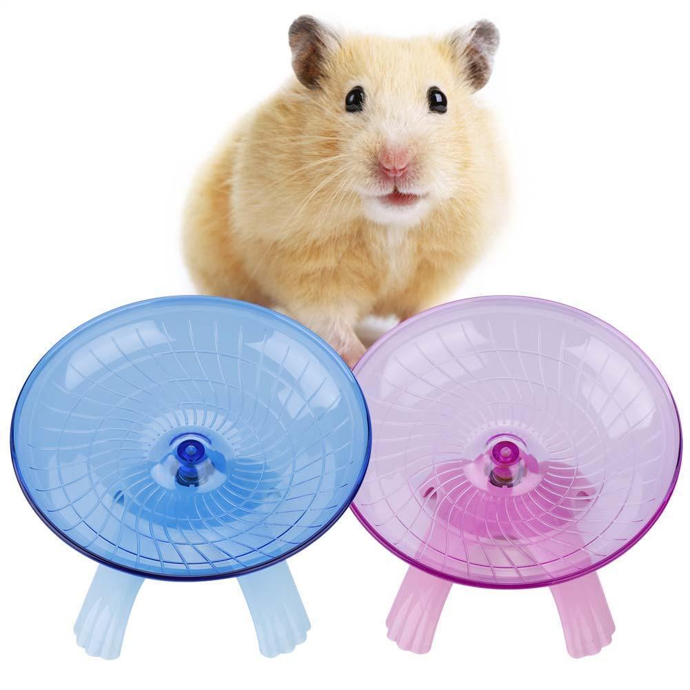 Jogging Wheel Exercise Silent Wheel Roller Large Gerbil Mouse Hamster