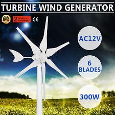 TURBINA EOLICA GENERATORE 300W AC12V VELOCITÀ STRONG GENERATORE EOLICO 6 LAME