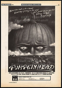 PUMPKINHEAD-Original-1986-Trade-print-AD-poster-horror-movie-promo-1988