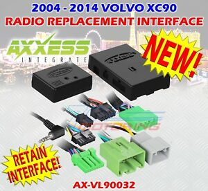 Details about VOLVO XC90 2003 - 2014 RADIO WIRE HARNESS INCL AMP BYP on