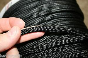 8mm X 50 FEET Teufelberger New England Accesory cord rope Color Solid BLACK