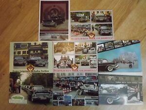 GAZ-13-Tschaika-Chaika-Postcards-8-Soviet-Russian-Limousine-Postkarten