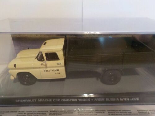 Chevrolet Apache C30 One-Ton Truck James Bond 007 126 1//43 Brand New Nr