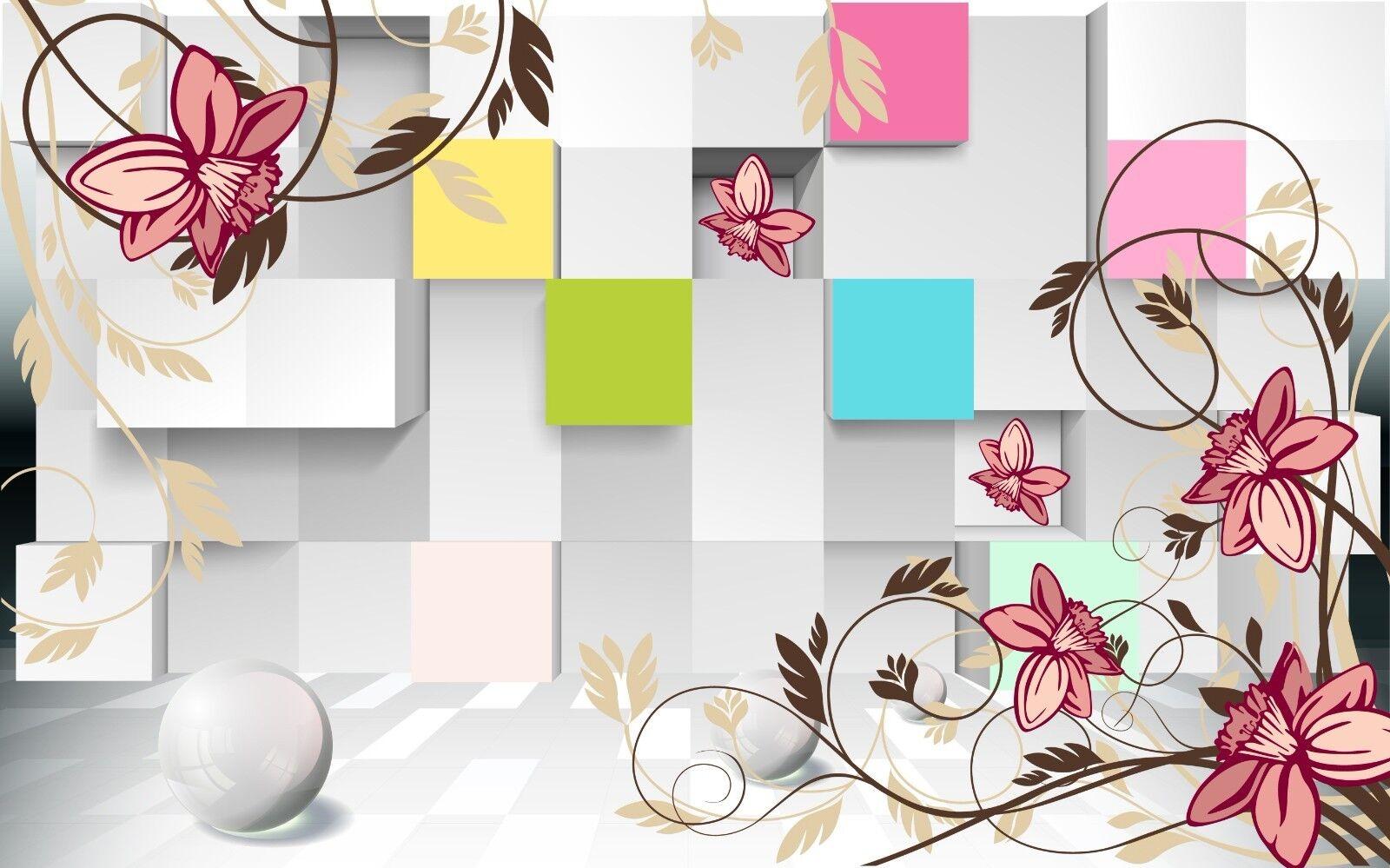 3D Farbiges Farbiges Farbiges Raum Blaume 7683 Tapete Wandgemälde Tapeten Bild Familie DE Jenny | Bekannt für seine schöne Qualität  | Hervorragende Eigenschaften  | Angenehmes Aussehen  c7bfca