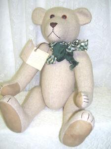 AN-ORIGINAL-DESIGN-JOINTED-TEDDY-BEAR-HANDMADE-1996