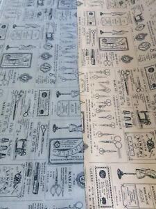 100-Cotton-Printed-Poplin-Fabric-dressmaking-sewing-tools