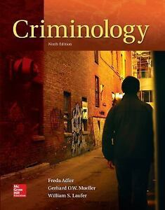 Criminology by freda adler gerhard o w mueller and william s stock photo fandeluxe Gallery