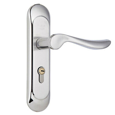 SQUARE 304 STAINLESS STEEL LEVER HANDLES DOOR ENTRANCE MORTISE LOCK SET PRIVACY