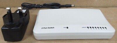 Bello Pro-reti Es3108ch5 8 Porte 10/100 Mbps Fast Ethernet Switch Full Duplex- Piacevole Al Palato