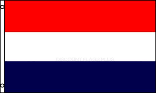 RED WHITE BLUE Flag 3x5 Polyester