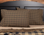 BLACK-CHECK-Standard-Pillow-Case-Set-2-Black-Khaki-Primitive-Rustic-Country-VHC thumbnail 1